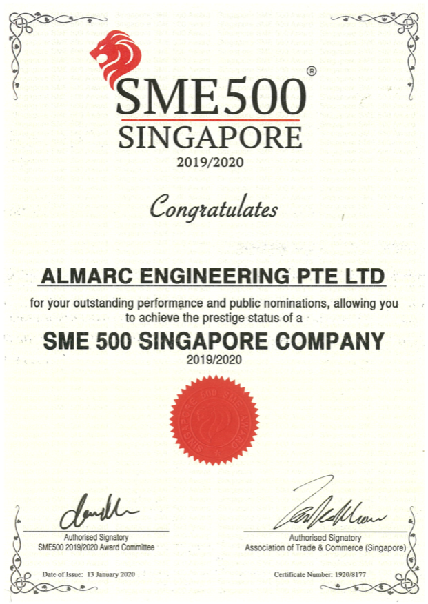 Almarc Engineering – PTFE Lined Piping Manufacturer
